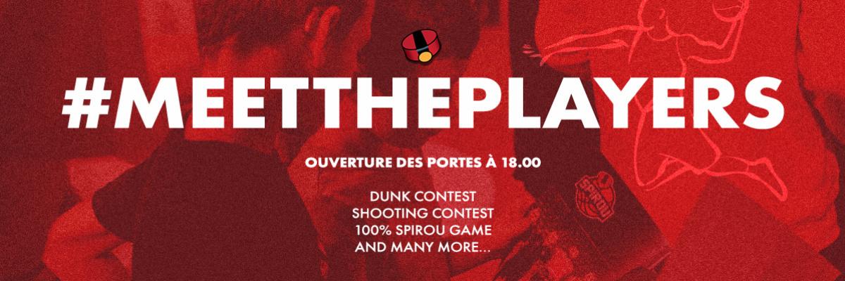 5€ offert au #MeetThePlayers !