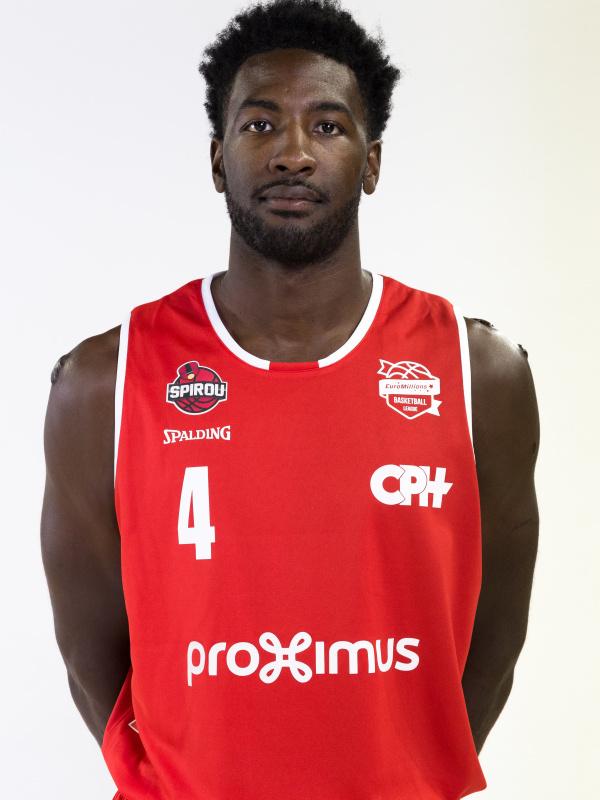 Proximus Spirou Basket - Dario Hunt