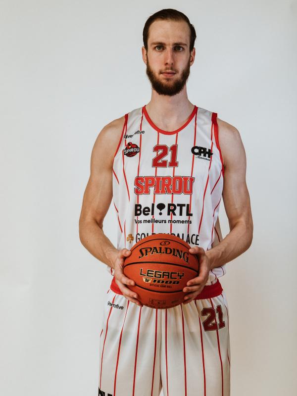 Proximus Spirou Basket - Ivo de Vreede