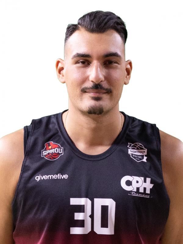 Proximus Spirou Basket - Khalid Boukichou