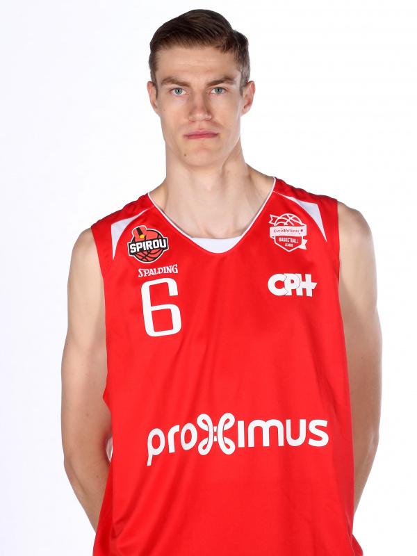 Proximus Spirou Basket - Michael Fusek