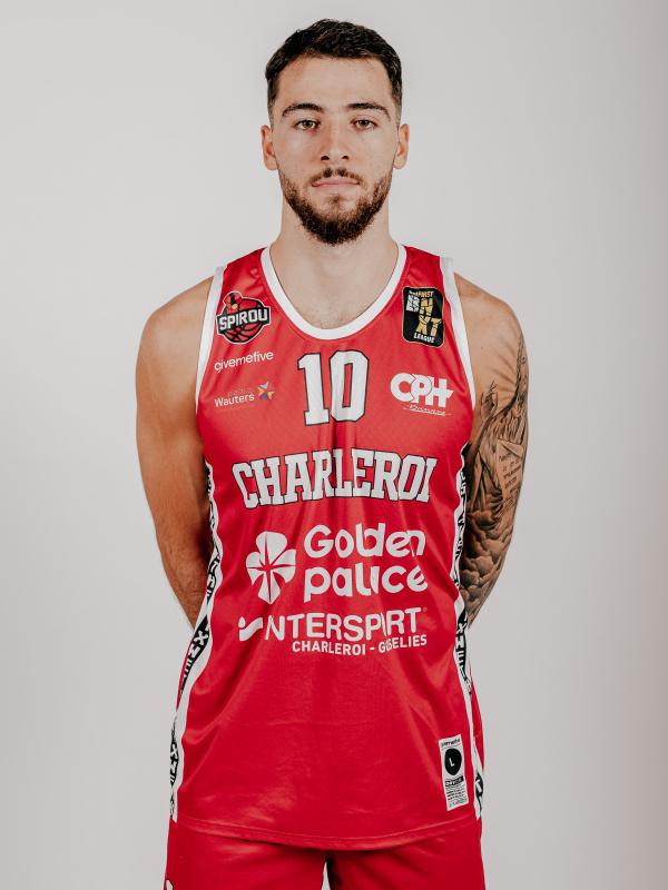 Proximus Spirou Basket - Milan Samardzic
