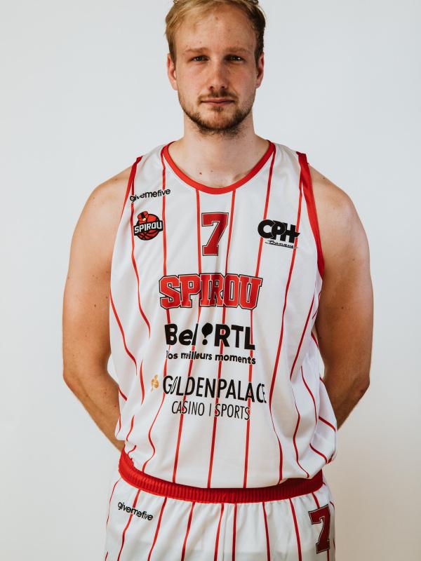 Proximus Spirou Basket - Tim Lambrecht