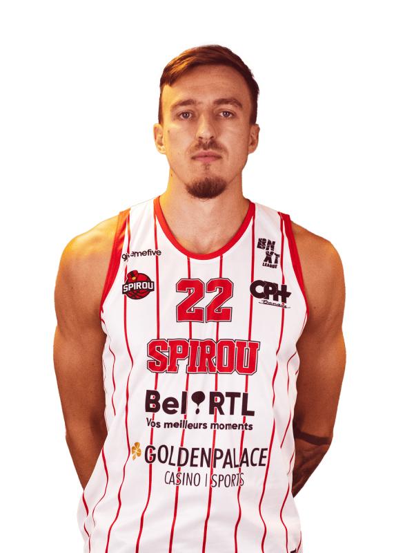 Proximus Spirou Basket - Vincent Kesteloot