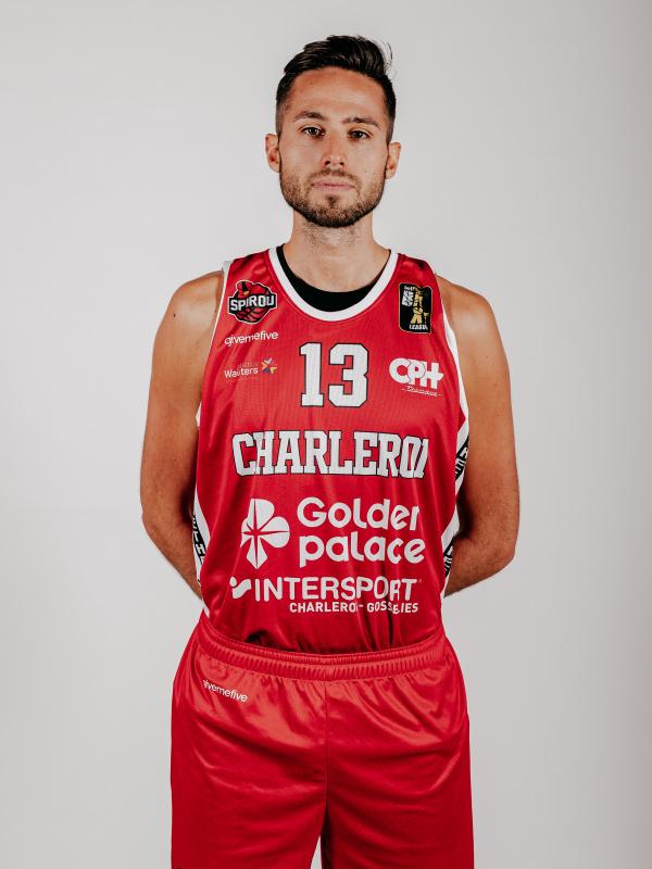 Proximus Spirou Basket - Yoeri Schoepen