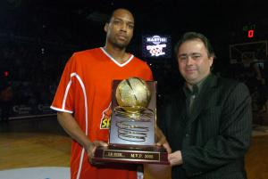 Marcus Faison MVP en 2005 © Virginie Lefour