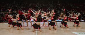 Nos Coca Cola Dancers toujours au sommet de leur art.