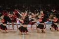 SPIROU x ANVERS - Nos Coca Cola Dancers toujours au sommet de leur art.